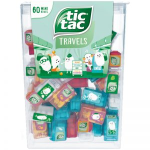 TicTac Mini 60-pack - 27% rabatt