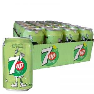 7up Free 24-pack - 37% rabatt