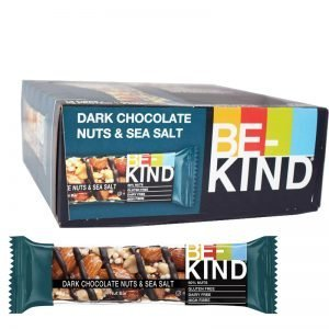 Bar Mörk choklad, nötter & havssalt 12-pack - 23% rabatt