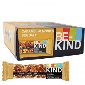 Bar karamell, mandlar & havssalt 12-pack - 23% rabatt