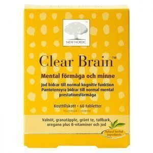 Clear Brain 60 st