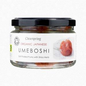 Clear Spring Umeboshiplommon - 200 Gram