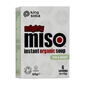 Clearspring Instant Miso Suppe Tofu & Ingefær Ã? - 60 G