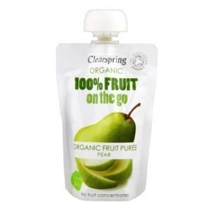 Clearspring Pære Fruit On The Go Ã? - 120 G