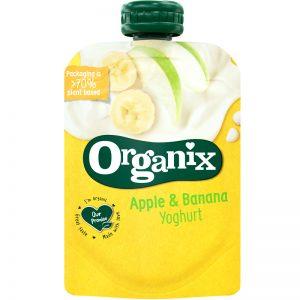 Eko Mellanmål Yoghurt, Äpple & Banan - 14% rabatt