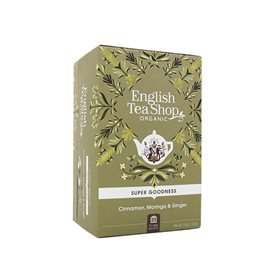 English Tea Shop Cinnamon, Moringa & Ginger Te Ã? - 20 Påse