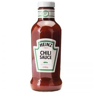 Heinz Chilli Sauce - 32% rabatt