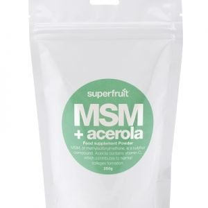 MSM + Acerola Powder 250g