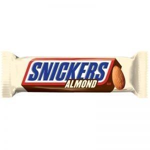Snickers Almond 49,9g - 28% rabatt