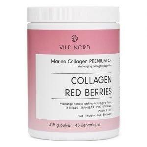 VILD NORD Marine Collagen Red Berries - 315 Gram