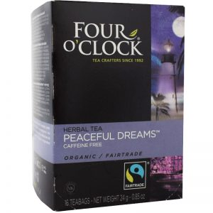 "Örtte ""Peaceful Dreams"", Eko Fairtrade 16p - 38% rabatt"