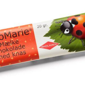 Økoladen ØkoMarie Mælkechokolade Knas Ø - 20 G