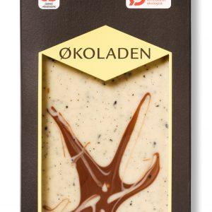 Økoladen Chokolade hvid lemon/lakrids Ø - 75 G