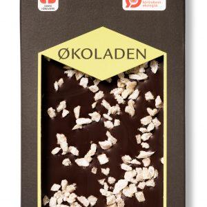 Økoladen Chokolade mørk ingefær/lemon Ø 72% - 75 G