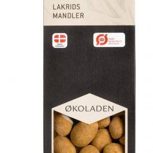 Økoladen Lakritsmandlar Med Choklad Eko - 90 G