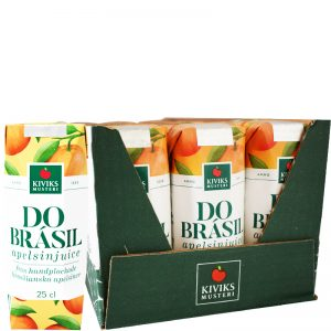 24-pack Do Brásil Apelsinjuice, 25 cl - 59% rabatt