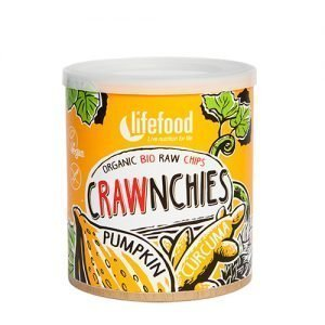 AbsorBurn Crawnchies RAW chips m. Græskar & Gurkemeje Ø - 30 G