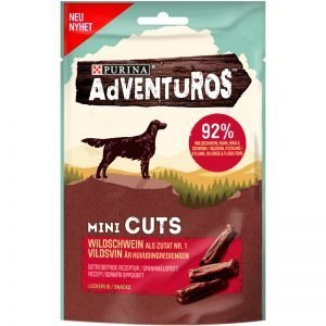 Adventuros Mini Cuts 70g - 34% rabatt