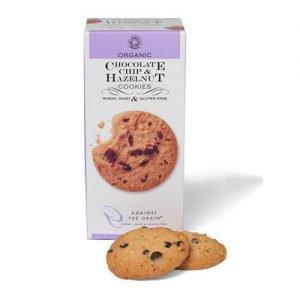 Against The Grain Chocolate Chip & Hasselnød Cookies Ø - 150 G