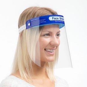 Ansiktsskydd - Visir med resårband