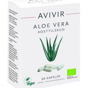 Avivir Aloe Vera Kapslar - 60 Kaps