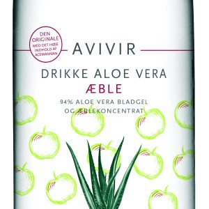 Avivir Dryck Aloe Vera Äpple - 1 Litr