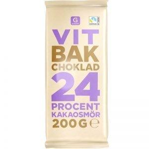 Bakchoklad Vit - 30% rabatt