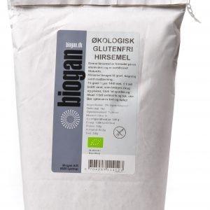 Biogan Økologisk Glutenfri Hirsemel - 1 Kg