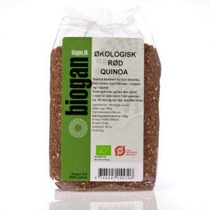 Biogan Økologisk Rød Quinoa - 500 G