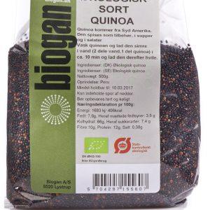 Biogan Økologisk Sort Quinoa - 500 G