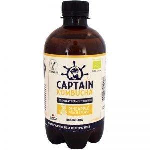Captain Kombucha Ananas & aprikos - 21% rabatt