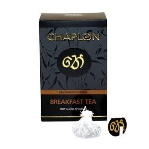 Chaplon Breakfast Sort/Hvid Te Ø - 15 Påse