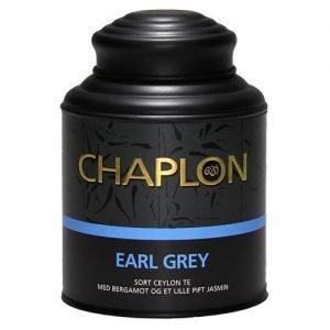 Chaplon Earl Grey Sort Te i Dåse Ø - 160 G