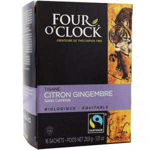 Citron Ingefära Te, Eko Fairtrade 6x16p - 38% rabatt