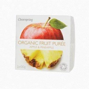 Clearspring Äpplepuré med Ananas - 2 Gram