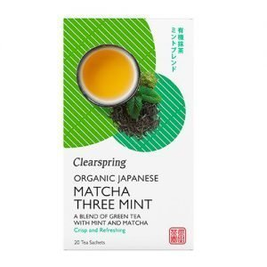 Clearspring Matcha Three Mint Te Ø - 36 G