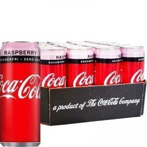 Coca-cola Zero Raspberry 20-pack - 45% rabatt