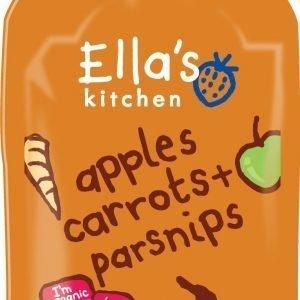 Ellas Kitchen Morötter Äpple Palsternacka 4+ Mån. Ekologisk - 120 Gram