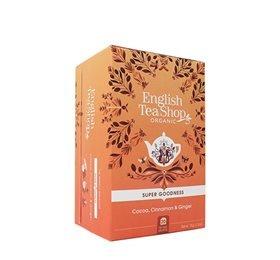 English Tea Shop Cocoa, Cinnamon & Ginger Te Ø - 20 Påse