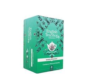 English Tea Shop Cranberry, Hibiscus & Rosehip Te Ø - 20 Påse