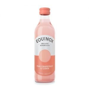 Equinox Kombucha Te Pink Grape/guava Ø - 275 ml