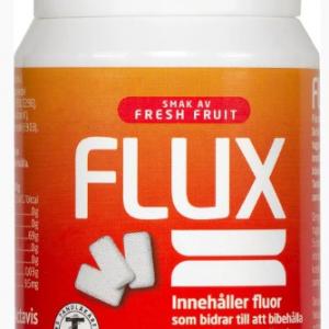 Flux Tuggummi Fresh Fruit burk Kort datum 11/20