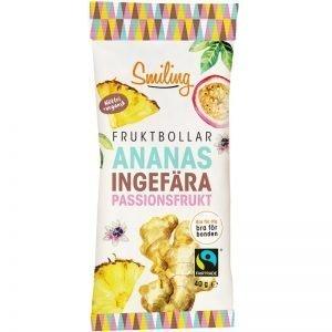 Fruktbollar ananas, ingefära & passionsfrukt - 20% rabatt
