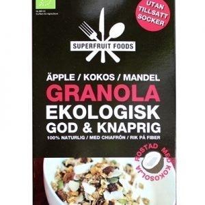 Granola - Äpple Kokos Mandel - 350g EKO