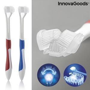InnovaGoods 4D Tandborste (Set med 2)
