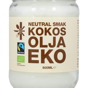 Kokosolja Neutral 500ml - Fair Trade EU Organic