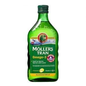 Møllers Tran Fiskeolie m. Citrus Omega 3 - 500 ml