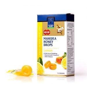 Manuka Health Manuka Honning Drops Lemon - 65 G