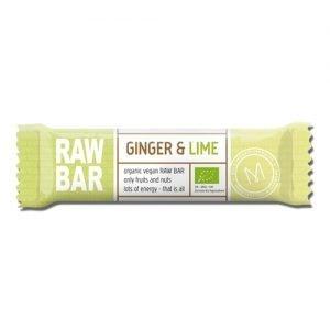 Mols Organic Raw Bar Ginger & Lime Ø - 45 G