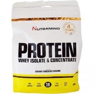 Nutramino Protein Creamy Chocolate & Banana 500 g - 34% rabatt